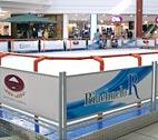 Publicidade na Pista de Patinação no Gelo