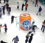 Publicidade nas Pistas de Patinação no Gelo